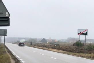 Budowa chodnika w Krubinie 1